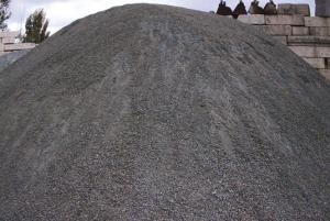 Купить отсев гранитный серый с доставкой в СПб