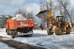 Вывоз снега в СПб